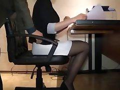 Sexy Secretaria Caliente Hidden Cam