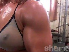 Sexy Modne Treningsstudio Rotte