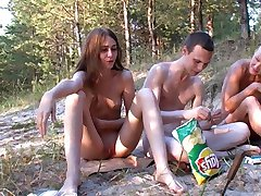 Russian Nudists (Happy people don't ware pants)