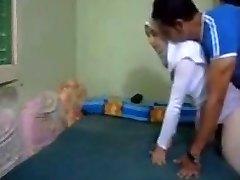 El hiyab trampa árabe Esposa anal kapali arkadan