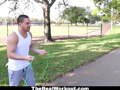 Teamskeet - Fitness Model Intense Hardcore Fucking Session
