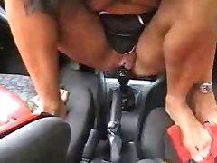 She ain't trippin on me she wanna fuck my car