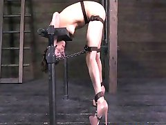 Casey Calvert metal bondage 2 part 3
