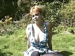 Farrah busty redhead