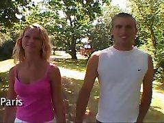 couple amateur filmer par une pornstar