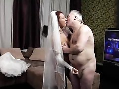 Old Husband and Italian Bride