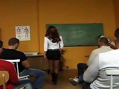 Teacher's Classroom Bukkake