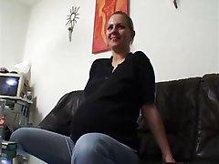Beauty German Milf  Pregnant pregnant