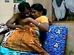 Aunty with her devor, together enjoying Getting Fucked After Powerful Fun Bags Sucking - Wowmoyback
