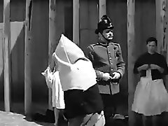 Corporal punishment scene