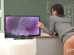 Jap Teacher Gets Fuct By Horny Students