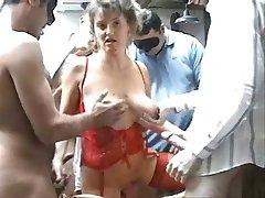 Christina milf orgy Amateur (Camaster)