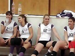 Extremadamente Calientes Chicas De Voleibol