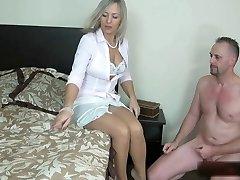 Sexu Wife Pantyhose Footob 6