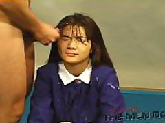 Bukkake Highschool Lesson 13 4/4 Japanese uncensored blowjob