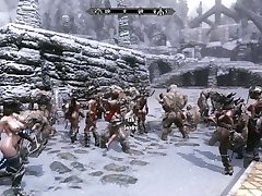 Troll Gangbang Action Part 1