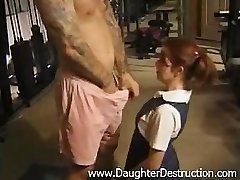 Youthfull daughter-in-law brutally hatefucked by daddy