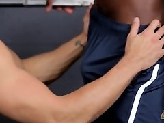 Next Door Ebony Getting Personal With The Gym Tutor