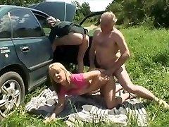 Glorious Homemade tweak with Threesome, Mature scenes