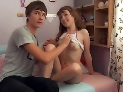 MRY - super hot teen gets fucked by bf