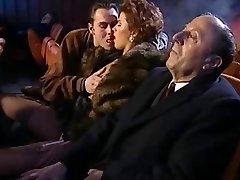 Massive Orgy in Movie Theater