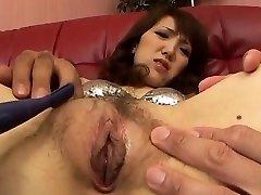 Hardcore suck off play along Ai tight vagina
