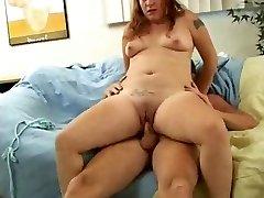 Slutty Fat Lush Teen Ex GF loved inhaling and fucking-1