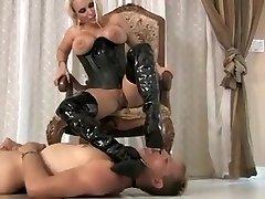 Super-naughty amateur Fetish, MILFs xxx scene