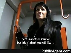 PublicAgent - Penelope porks on the train