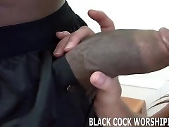 His thick black man meat fills me up completely