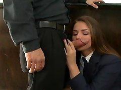 Tori Dark-hued is a highly naughty schoolgirl