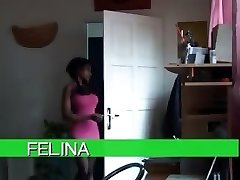 felina at apartment