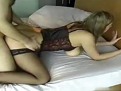 Inexperienced BUSTY IN Stockings DOES IT ALL