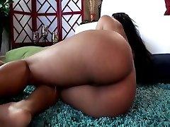 Hottest pornstar Leilani Leeanne in finest ebony, blowjob porno scene