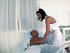 Dark-hued Angelika - Nurse