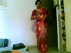 Housewife Caught Changing