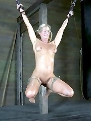 Annie Cruz enjoys humiliation. Rain DeGrey loves bondage. Simone Sonay just wants to get fucked. All three will have their wishes granted.