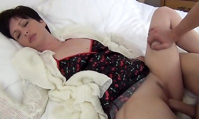 Mom Fucked rock-hard