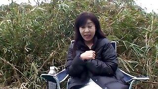 50yr elderly Granny Satoko Tabata Creampied (Uncensored)