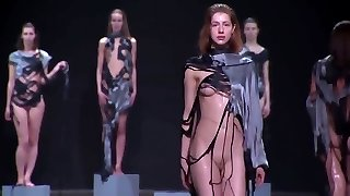 Wet Naked Fashion Show... Oops!