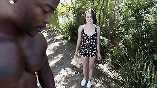 ExxxtraSmall - Small Neighbor Fucked By Ginormous Cock