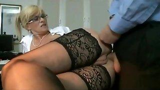 Marina Montana Secretary Ass-fucked Hangers udders tights