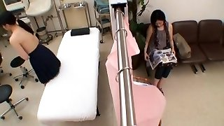 Exotic Japanese girl in Extraordinaire Medical, College JAV episode