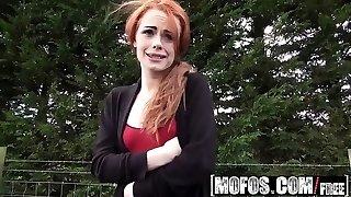 Mofos - Stranded Teens - British Redhead Suck