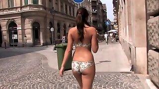 Is She Wearing a Bikini Or is it Body Paint ?