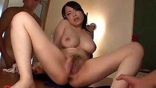 Wonderful Asian girl Miho Tsujii in Incredible JAV uncensored Thick Tits video