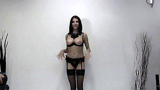 Elya swallows 56 huge mouthful cumshots