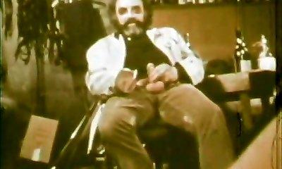 ילדההה אוכלת בהצטיינות של מכוער זקן (1970 וינטאג')