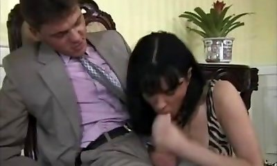 Anal Fuck-a-thon in the Office