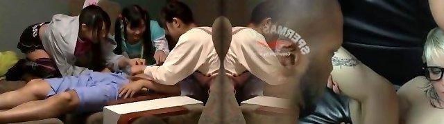 Crazy Chinese chick Mamiru Momone, Mina Yoshii in Incredible Fingering, Facial JAV video